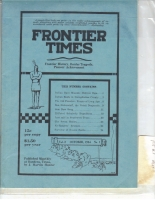 1924 - October Frontier Times (Reproduction)