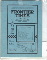 1924 - November Frontier Times (Reproduction)