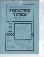 1925 - March Frontier Times (Reproduction)