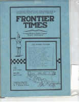 1925 - April Frontier Times (Reproduction)