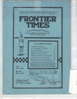 1925 - May Frontier Times (Reproduction)