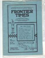 1925 - August Frontier Times (Reproduction)