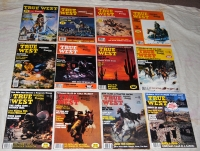 1982 - Full Year True West - 12 Issues