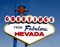 Nevada Greetings Postcard
