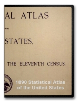 1890 Statistical Atlas of the United States on CD