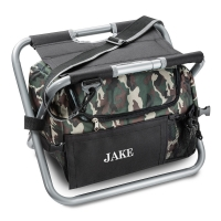 Deluxe Camouflage Sit n' Sip Cooler Seat (Personalized)