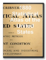 1880 Statistical Atlas of the United States on CD