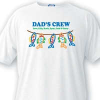 DAD'S CREW T-Shirt (Personalized)