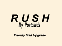 *Shipping Upgrade For Postcards