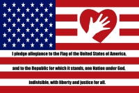 Flag Pledge Poster