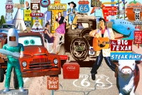 Route 66 Signs...Signs 11x17 Poster