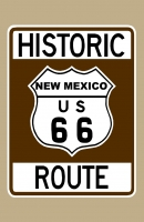 Historic Route 66 (New Mexico) Sign Poster