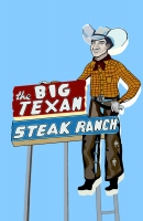 Big Texan 11x17 Poster