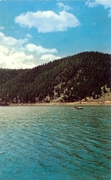 Eagle Nest Lake, New Mexico Postcard