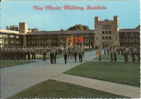 New Mexico Military Institute, New Mexico Postcard