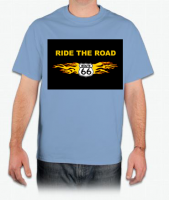 Ride The Road - Route 66 - T-Shirt
