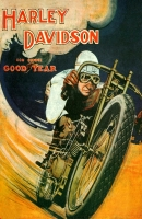 Harley Davidson Good Year (1918) 11x17 Poster