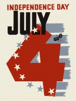 Independence Day (Vintage WPA) 11x17 Poster