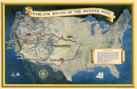 Overland Trails West 11x17 Poster