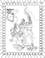 Stand Tall July 4th Coloring Pages | American revolution, Military ... | 200x155