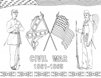 Civil War - Coloring Article (Download)