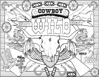 Cowboys - Coloring Article (Download)