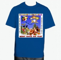 Merry Gobble Boo Year!  T-Shirt