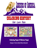 Coloring History - Legends' Coloring Book