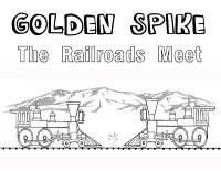 Golden Spike - Coloring Article (Download)