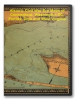 Connecticut, Washington DC, Florida, Ohio and WV Civil War Maps CD