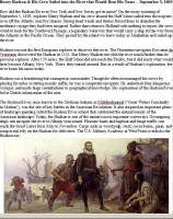 Henry Hudson E-Article (Download)