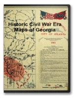 Georgia Civil War Maps CD