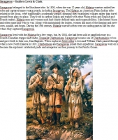 Sacagawea E-Article (Download)