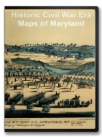 Maryland Civil War Maps CD