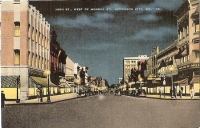 Jefferson City, Missouri High Street Postcard