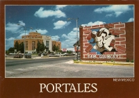 Portales, New Mexico Postcard