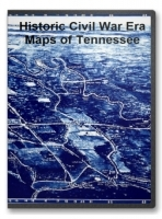 Tennessee Civil War Maps CD