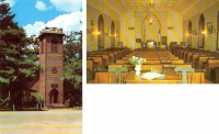 Little Brown Church, Nashua, Iowa Postcards - Set of 2