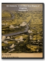 Virginia Civil War Maps Volume 3 CD