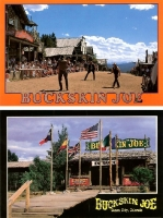 Buckskin Joe - Set of 2 Postcards