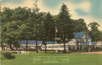 Farm Restaurant, Elmsford, New York Postcard