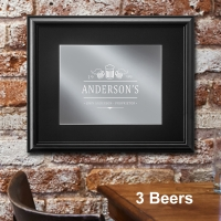 Personalized Bar Mirror (Four Designs)