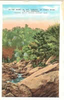 Breaks of the Sandy River Kentucky Postcard