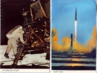 Apollo 11 - Set of 2 Postcards