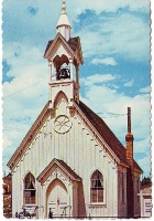 Fairplay, Colorado Chapel Postcard