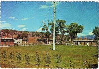 Fort Garland, Colorado Postcard