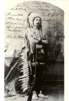 Buffalo Bill in Indian Costume Postcard