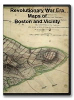 Boston and Vicinty Revolutionary War Era Maps on CD