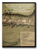 New England Revolutionary War Era Maps on CD