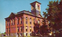 Courthouse, Park Rapids, Minnesota Postcard